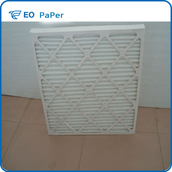 592*592*46mm Panel Type Cardboard Frame Air Filter