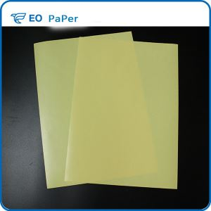 Double plastic single silicon release paper